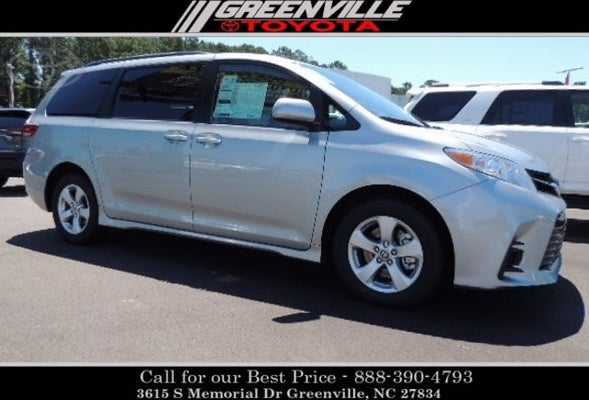 new 2020 toyota sienna for sale greenville toyota sku45383 2020 toyota sienna le