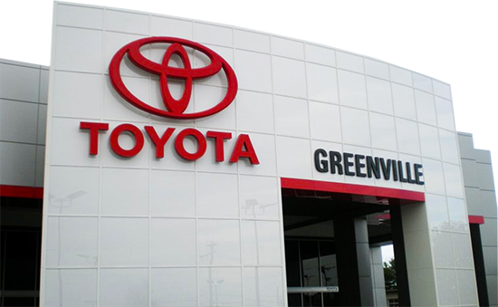 Toyota Of Greenville >> Greenville Toyota New Used Toyota Dealership Near